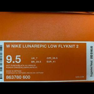 Nike Shoes - Women's Nike Lunarepic low Flyknit 2